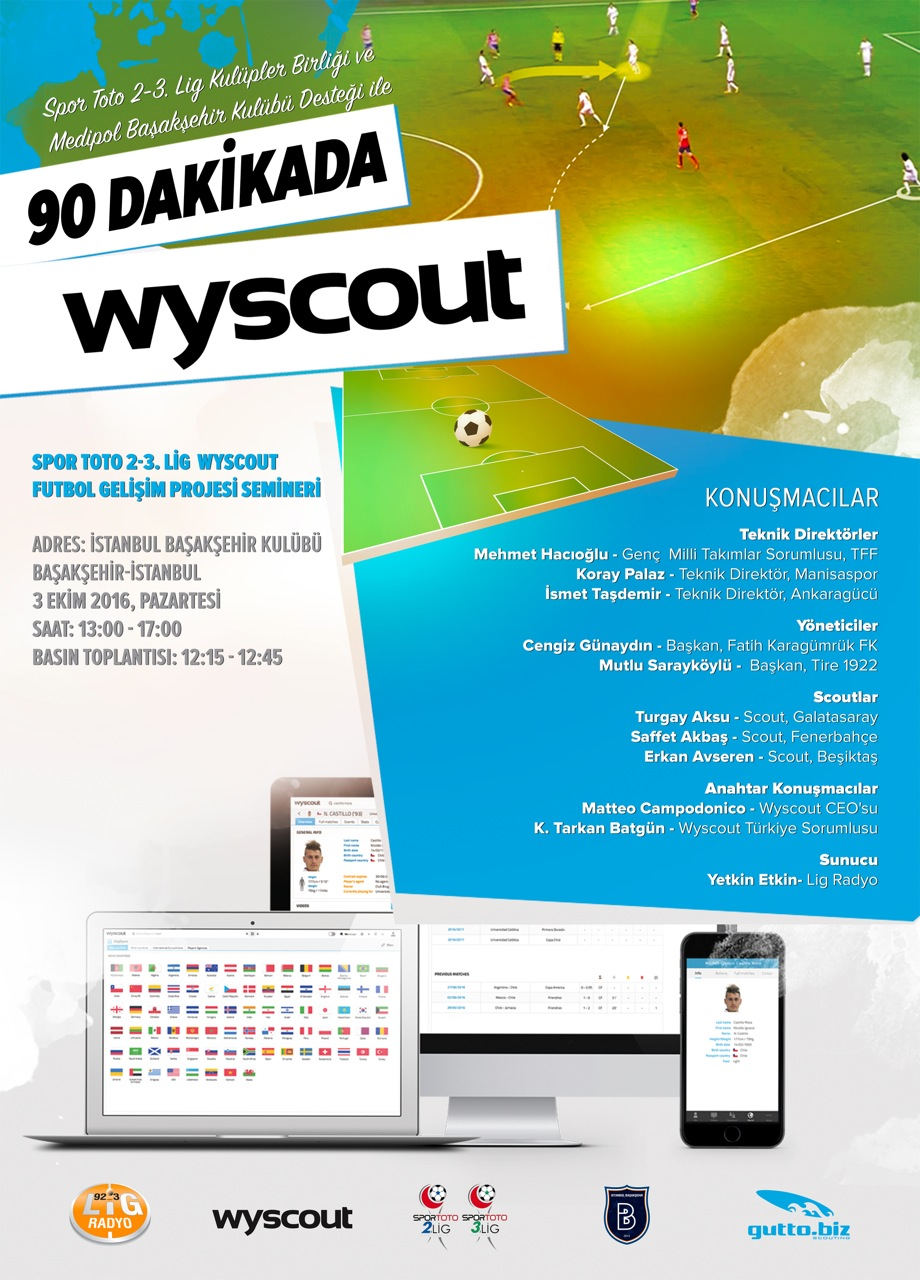 '90 Minutes in Wyscout' Seminar & with the support of Spor Toto 2-3 League Clubs Union
