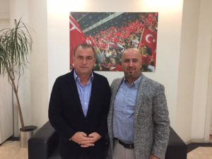 Fatih Terim'le Spor Toto 2-3 Gelişim Projesi Toplantısı