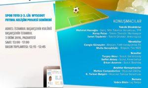 2.3. Lig Kulüpler Birliği Desteğiyle '90 Dakikada Wyscout' Semineri