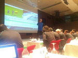 Turkish Football Federation Match Analysis Course-Tarkan Batgun lectures in live analysis