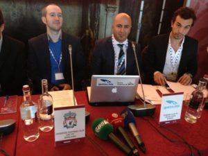 Tarkan Batgün ile Türk Kulüp TV'leri Avrupa Topluluğunda
