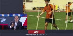 Tarkan Batgun at NTV Spor Talking AboutScouting